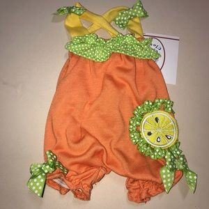 Other - Citrus Dog Pet Animal Jumper Outfit Clothing Lemon